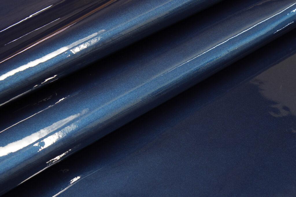 Charol Metal Blue