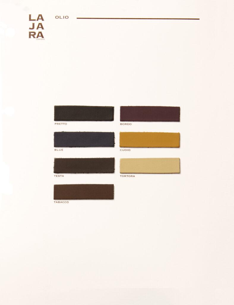 Carta de color Olio